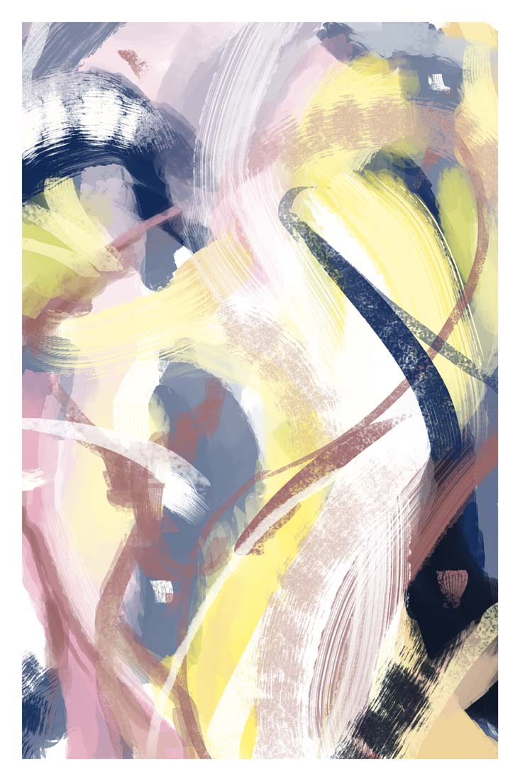 Fantastical Abstract - High-Quality Giclee Print